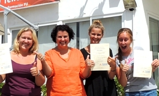 Students With certificate
