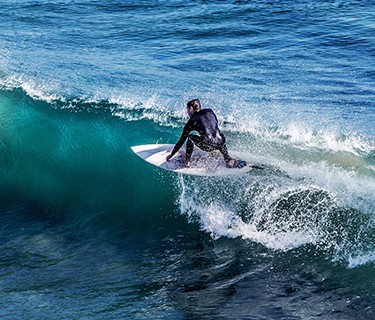 Surfer on Waves
