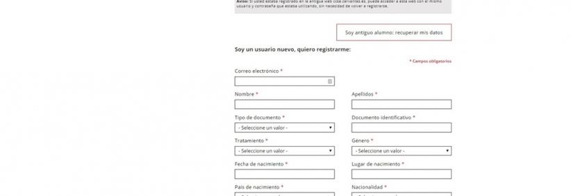 DELE Registration Step 1