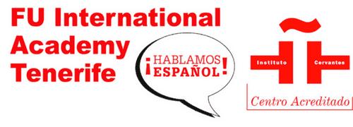 Spanish Language School Tenerife – FU International Academy Retina Logo